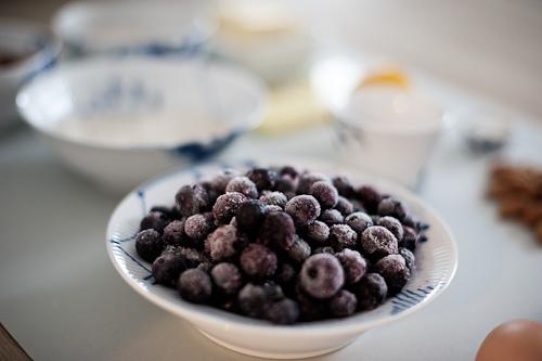 """""""Hjemmeplukkede"""" blåbær"""