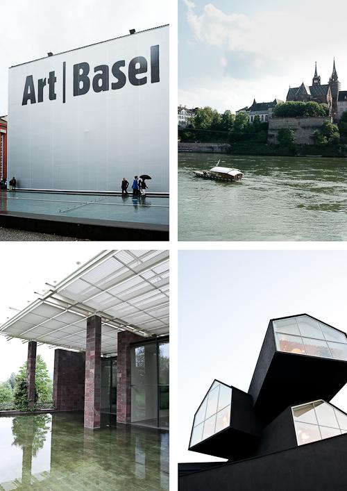 Art Basel (årlig kunstmesse=verdens største), Rhinen, Beyeler og Vitra