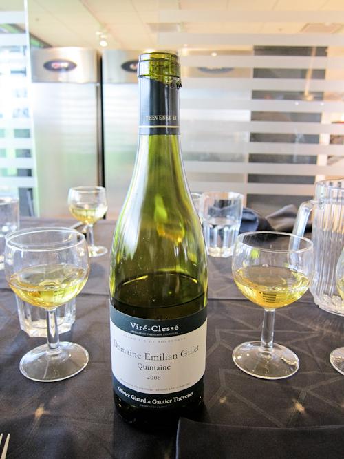 Dejlig hvid Bourgogne