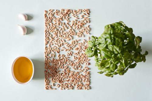 Pesto ingredienser