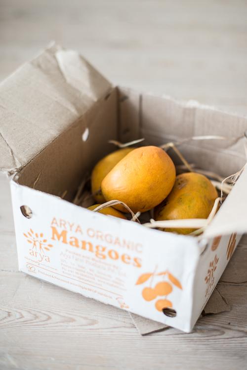 Økologiske mangoer direkte fra Indien