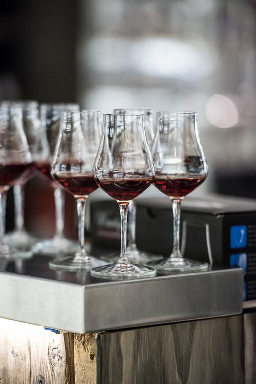 En dejlig vinmenu slutter med portvin