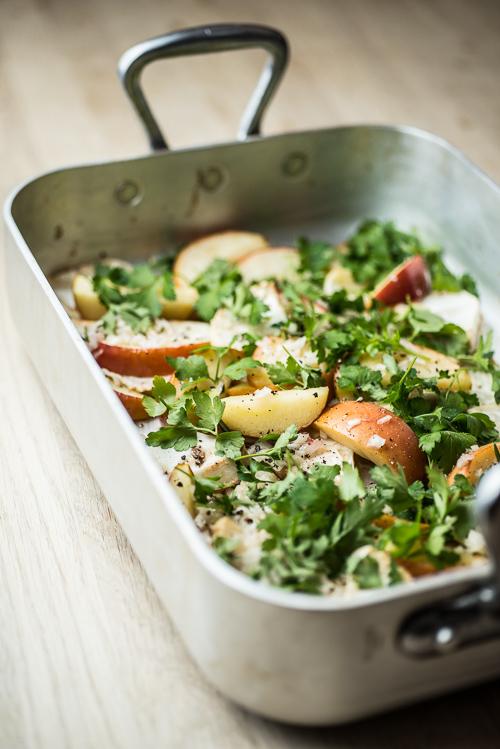 Man kan jo også vælge at servere den lune salat i en nydelig salatskål