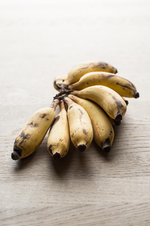 banankage med chokoladecreme