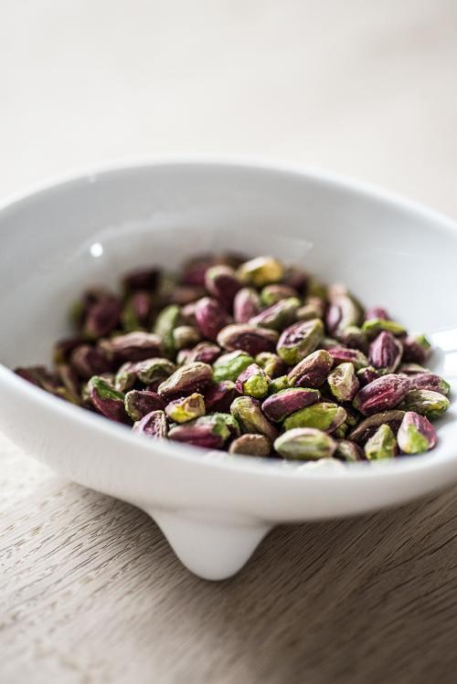 Uskallede hele pistacienødder