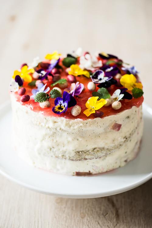 En smuk kage bebuder forår