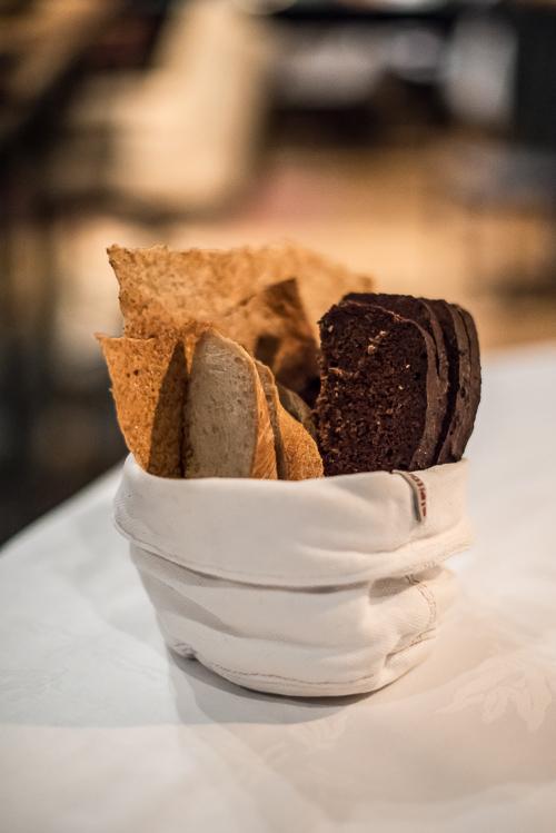 En meget fyldt brødkurv