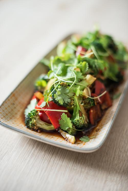 En dejlig vegetarret eller tilbehør til 3-4 personer