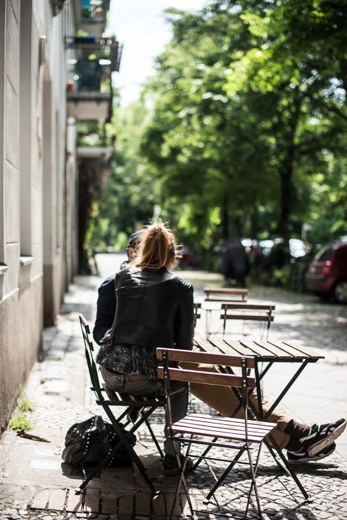 En stille, men dejlig grøn gade