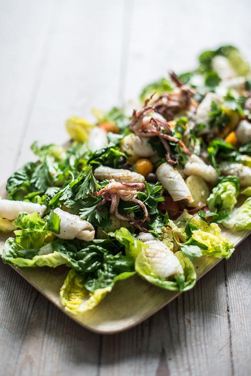 En nem og fyldig salat i sommervarmen