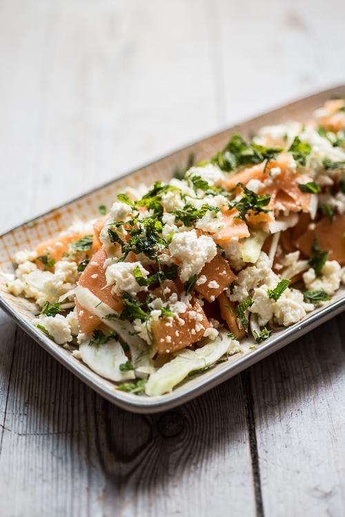 Salaten med de to M´er og de to F´er