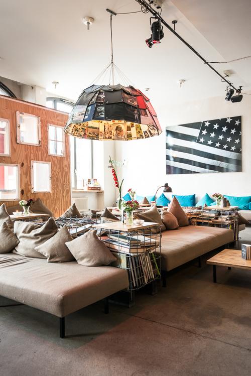 Stemningsfuld lounge hvor det er skønt at hænge ud