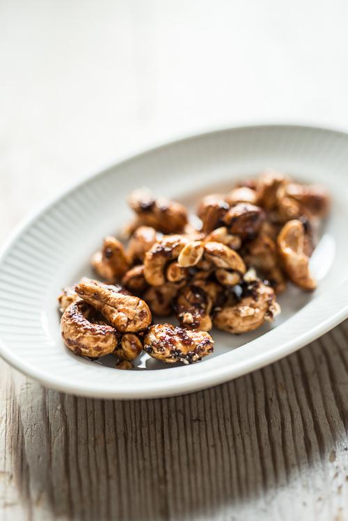 Spicy cashewnødder