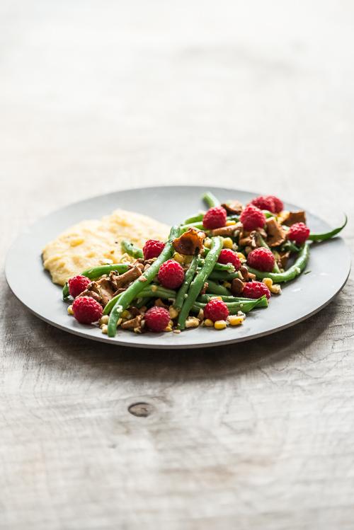 En meget smuk og ganske enkel salat