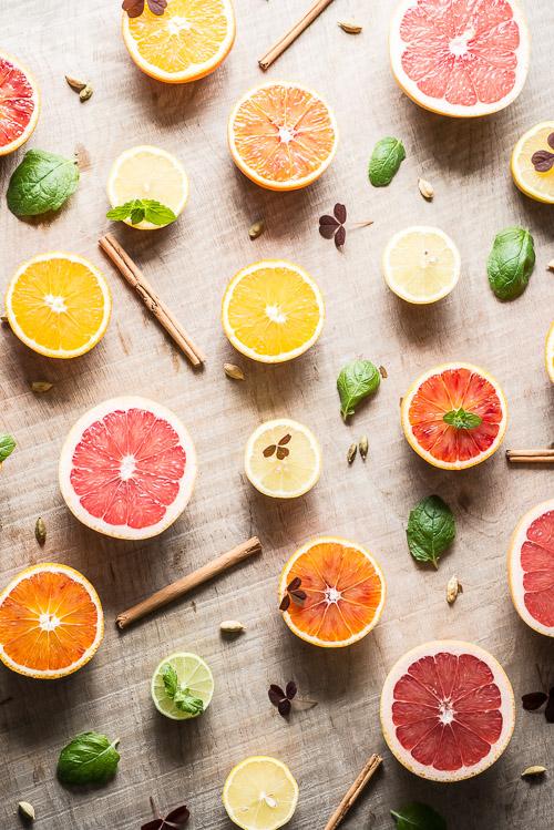 Smukke citrusfrugter er der til gengæld masser af i Marokko