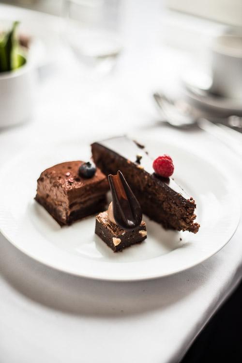 Death by chocolate: Sachertorte, brownie og gateau marcel