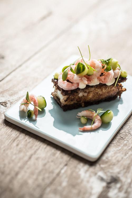 Opdateret smørrebrød fra Rasmus Kjær med skærisingfileter fra Skagenfood