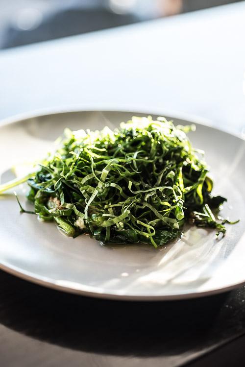 Lun grøn salat