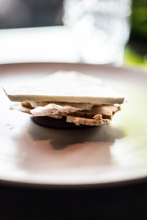 Vildt lækker kombi af wasabi og dessert