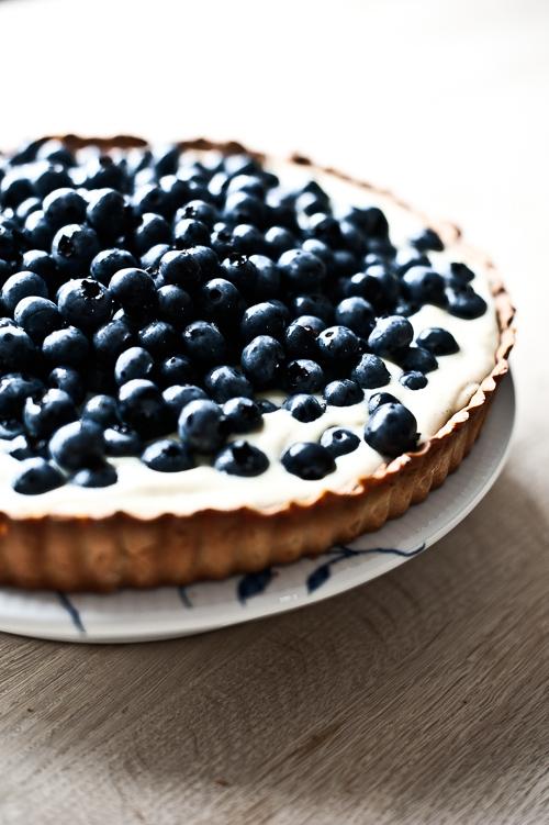 FANTASTISK blåbærtærte